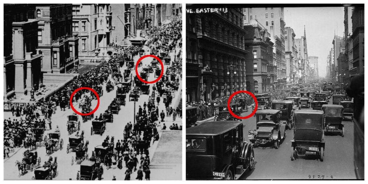 Collage NY 1900-13